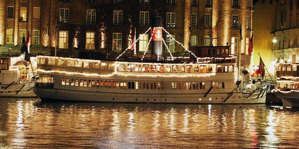 Julfest till sjöss